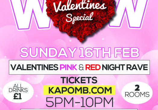 2020 VALENTINE'S RED & PINK RAVE with Love Island's Sherif!